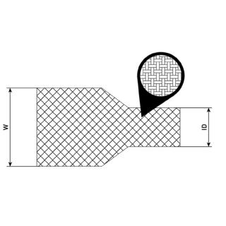Gaine textile thermorétractable